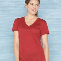 Gildan Tech Women's Performance V-Neck T-Shirt Thumbnail